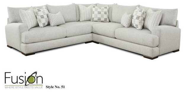 51 21l r 15 3 pc sectional by fusion furniture at furniture fair north carolina