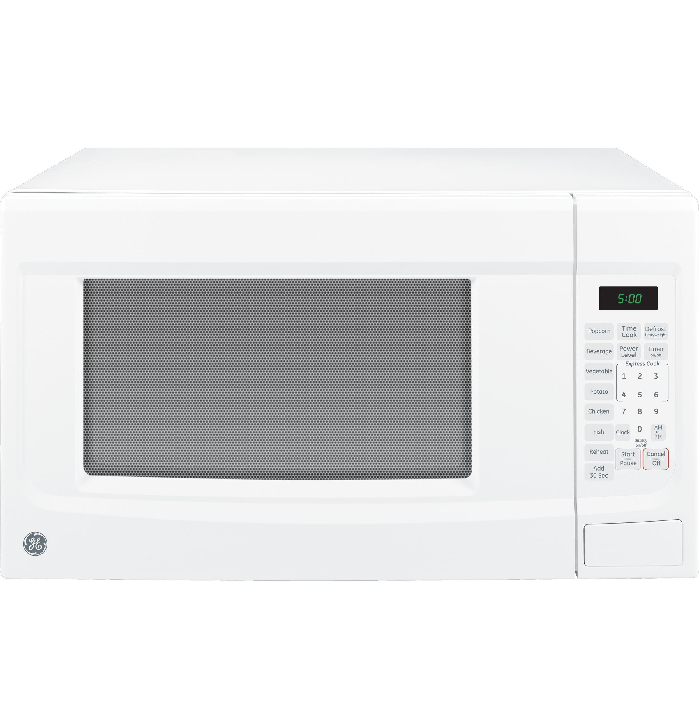 microwaves 1 4 cu ft countertop microwave by ge appliances at vandrie home furnishings