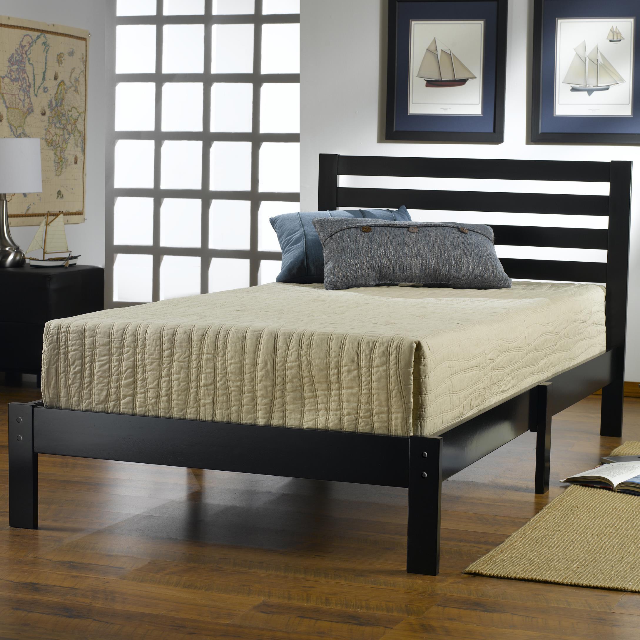 Hillsdale Wood Beds Twin Platform Bed Set Godby Home Furnishings Platform Beds Low Profile Beds