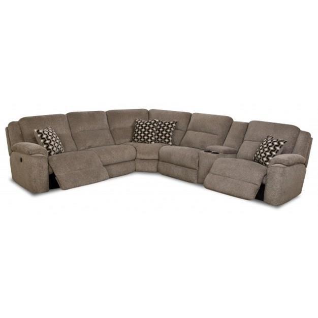 catalina 162 casual power reclining sectional sofa