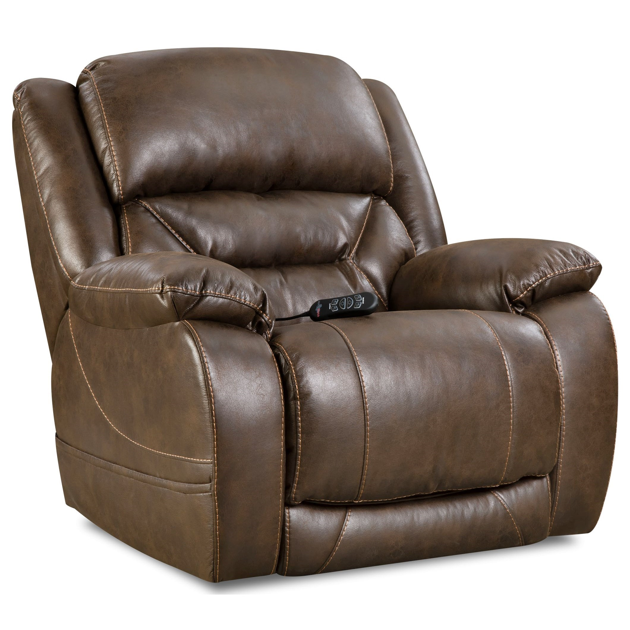 HomeStretch Enterprise Casual Power Recliner With Power