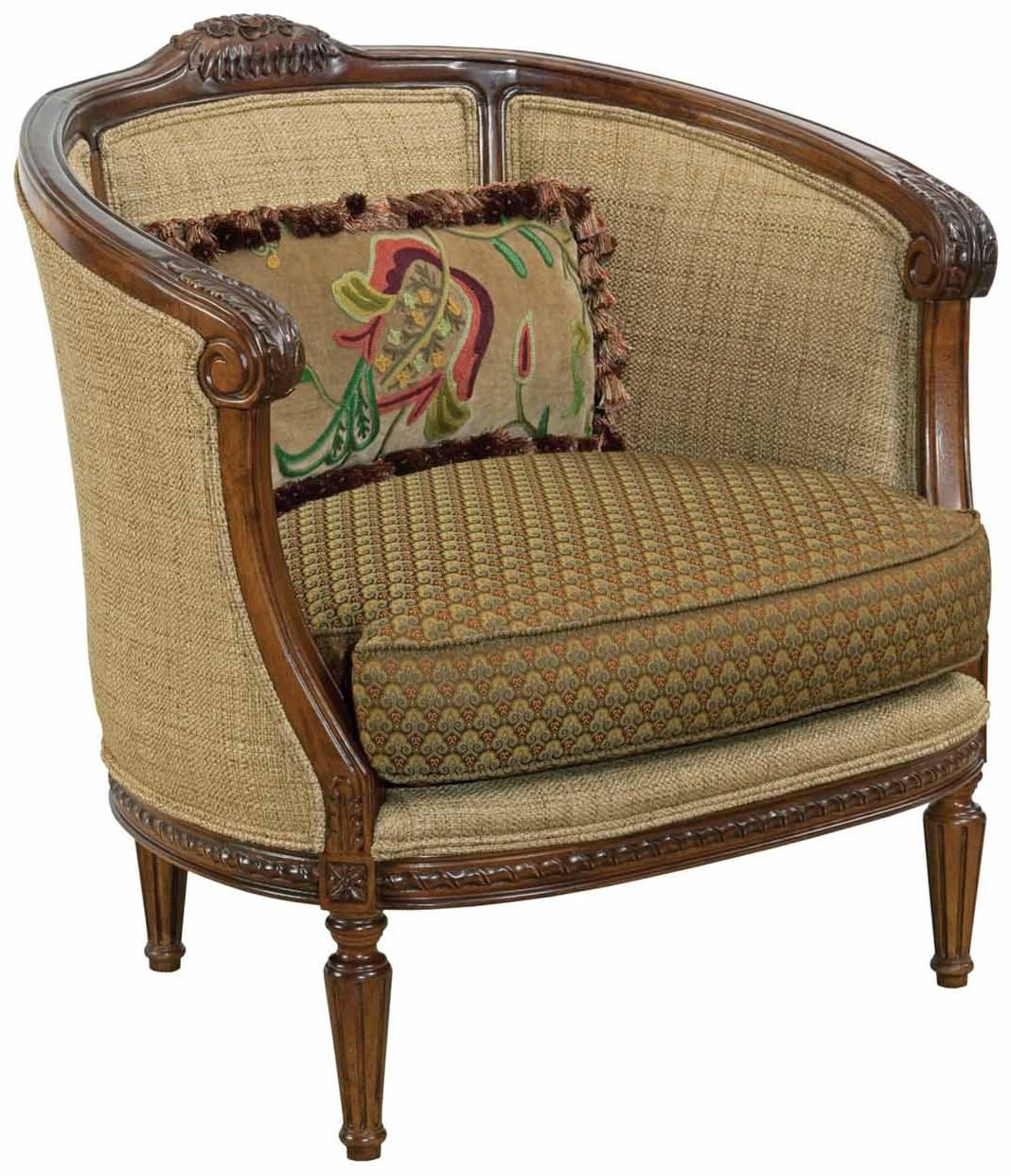 Kincaid Furniture Accent Chairs 043 00 Windsor Traditional