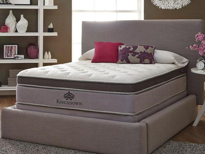 Anniversary Platinum 0158450 Queen Pillow Top Mattress By Kingsdown