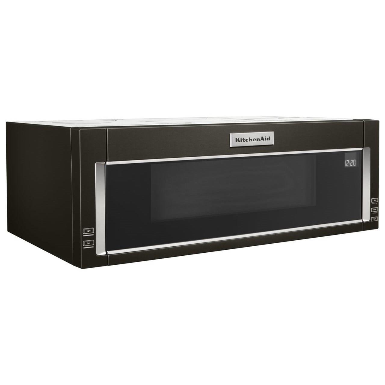 microwaves kitchenaid 1000 watt low profile microwave hood combina
