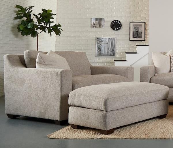 Novato Big Chair Ottoman Set