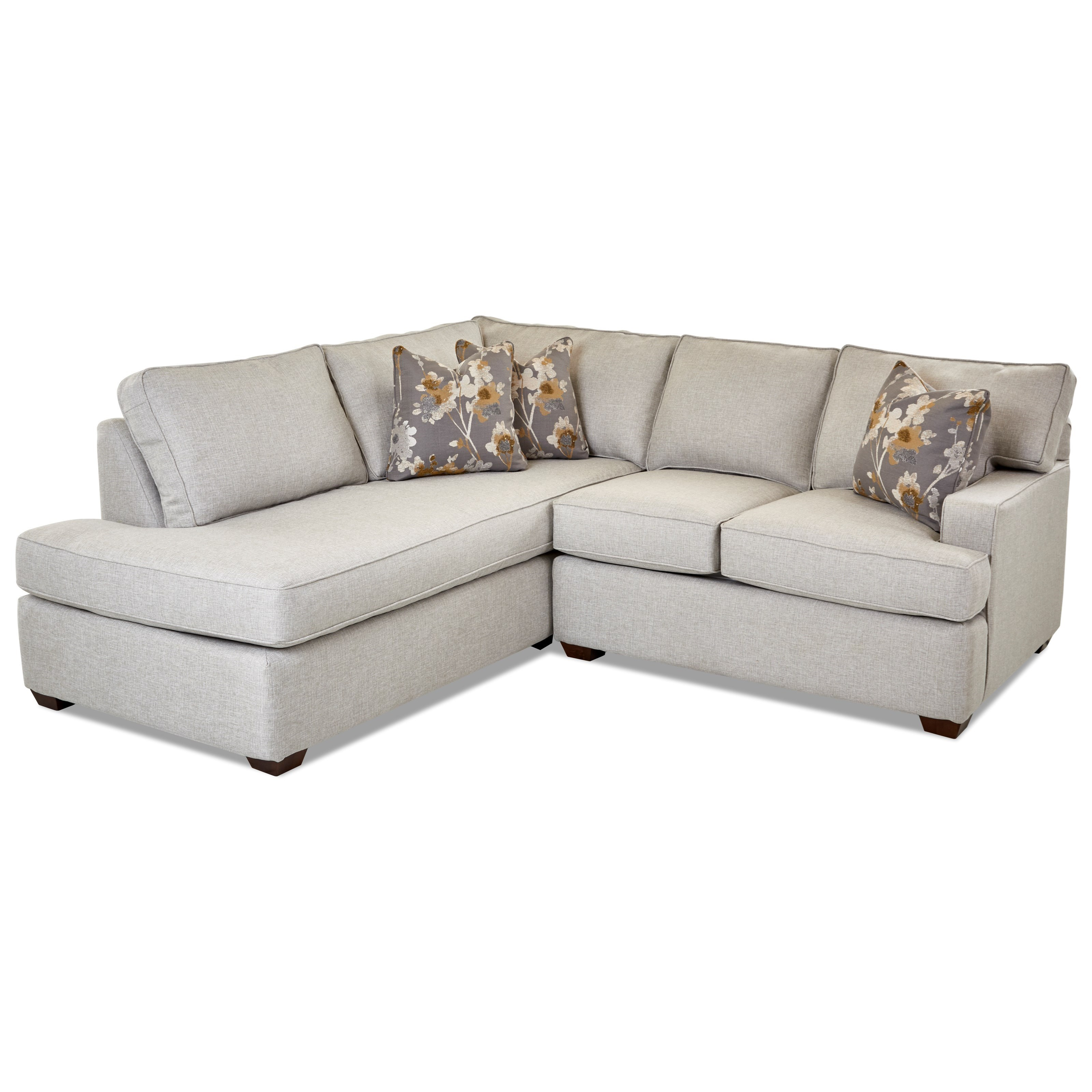 2 piece chaise sofa w laf chaise