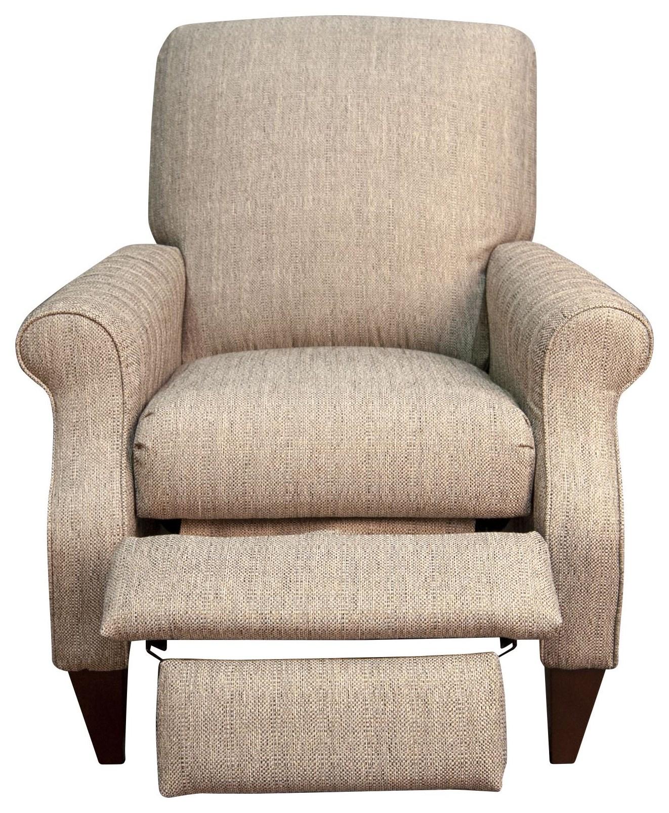 charlotte charlotte high leg recliner