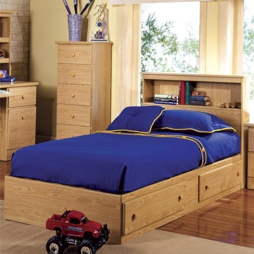 Lang Shaker Twin Bookcase Headboard W Mate S Bed Base A1