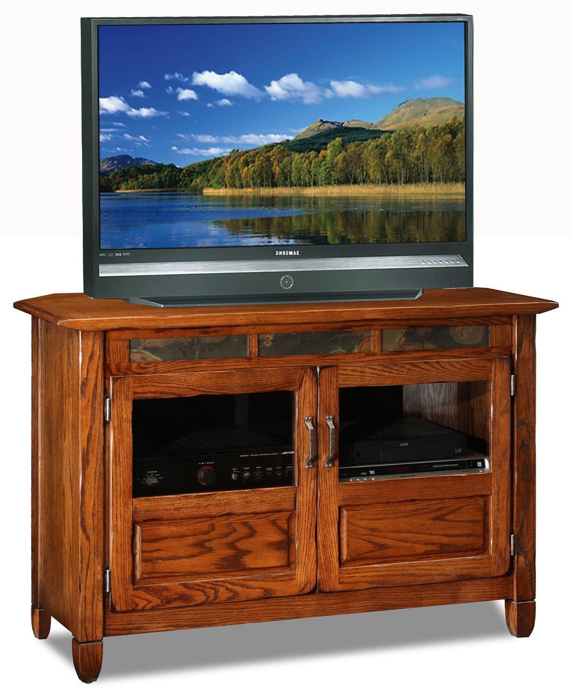 rustic oak 46 tv stand