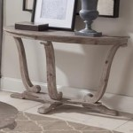 Greystone Mill Transitional Distressed Sofa Table By Sarah Randolph Designs At Virginia Furniture Market