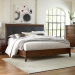 Lifestyle Stacey King Low Profile Bed With Upholstered Headboard Royal Furniture Upholstered Beds