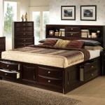 Lifestyle Todd King Storage Bed W Bookcase Headboard Royal Furniture Bookcase Beds