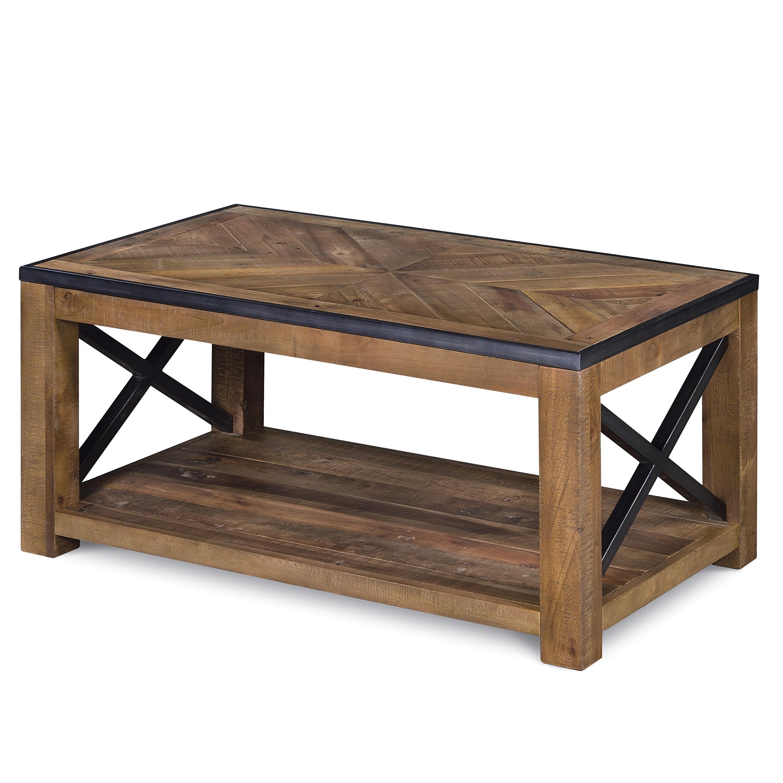 penderton small rectangular cocktail table w caste