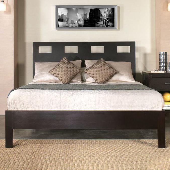 Modus International Nevis Queen Riva Platform Bed Conlin S Furniture Platform Beds Low Profile Beds