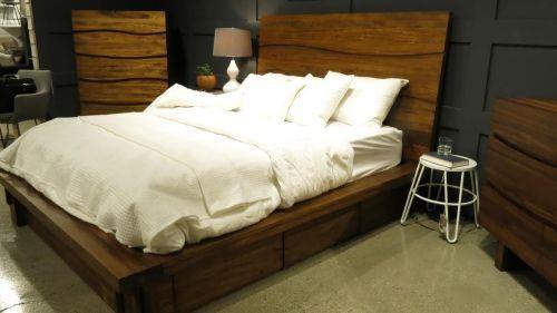 ocean cal king platform storage bed