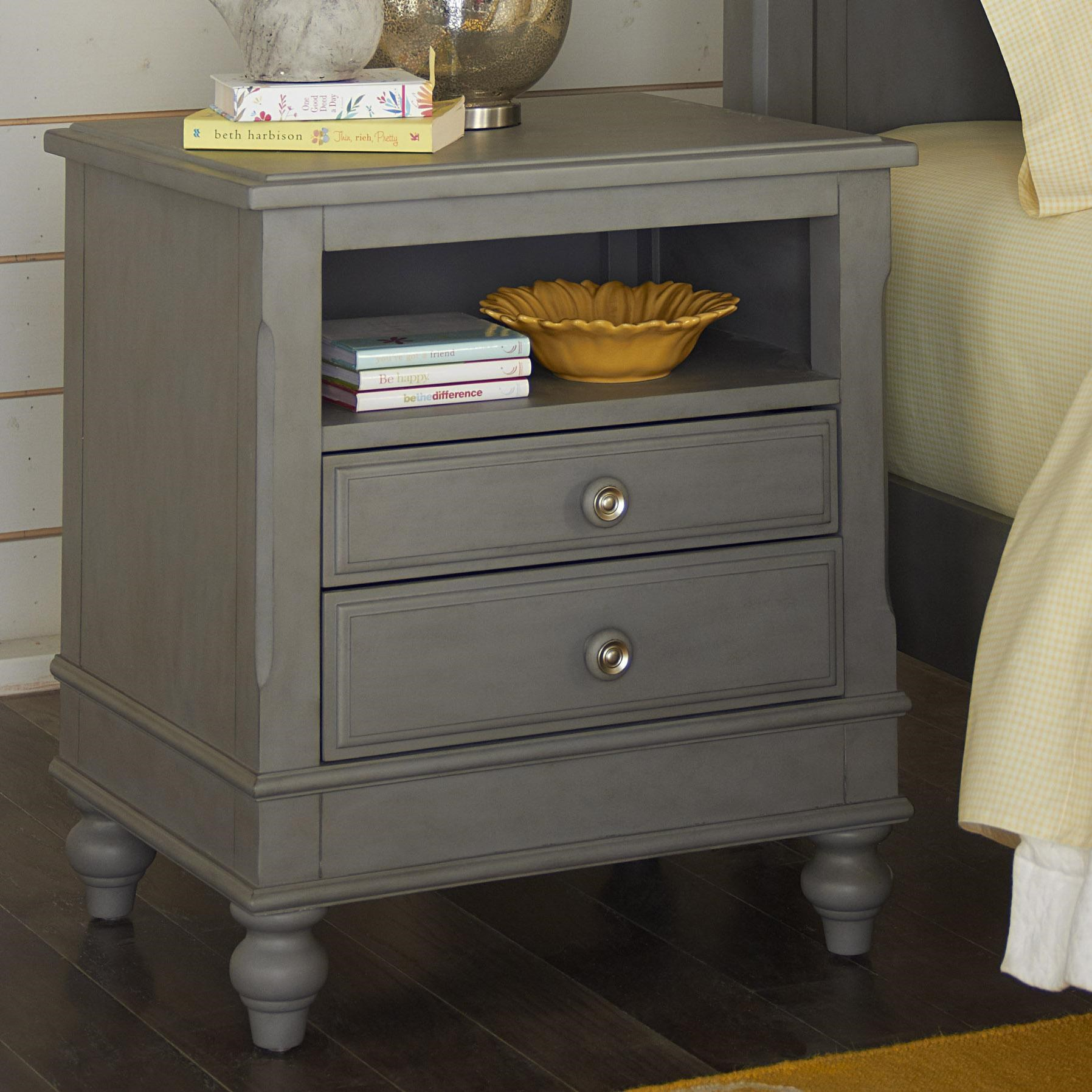 Lake House 2 Drawer Nightstand With Open Shelf By Ne Kids At Dunk Bright Furniture