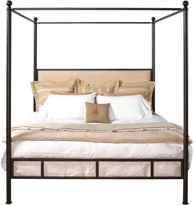 metal beds audrey metal canopy bed