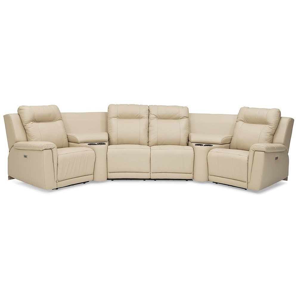 palliser riley casual power reclining