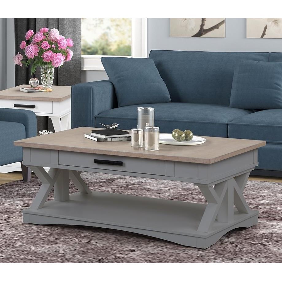americana modern cocktail table
