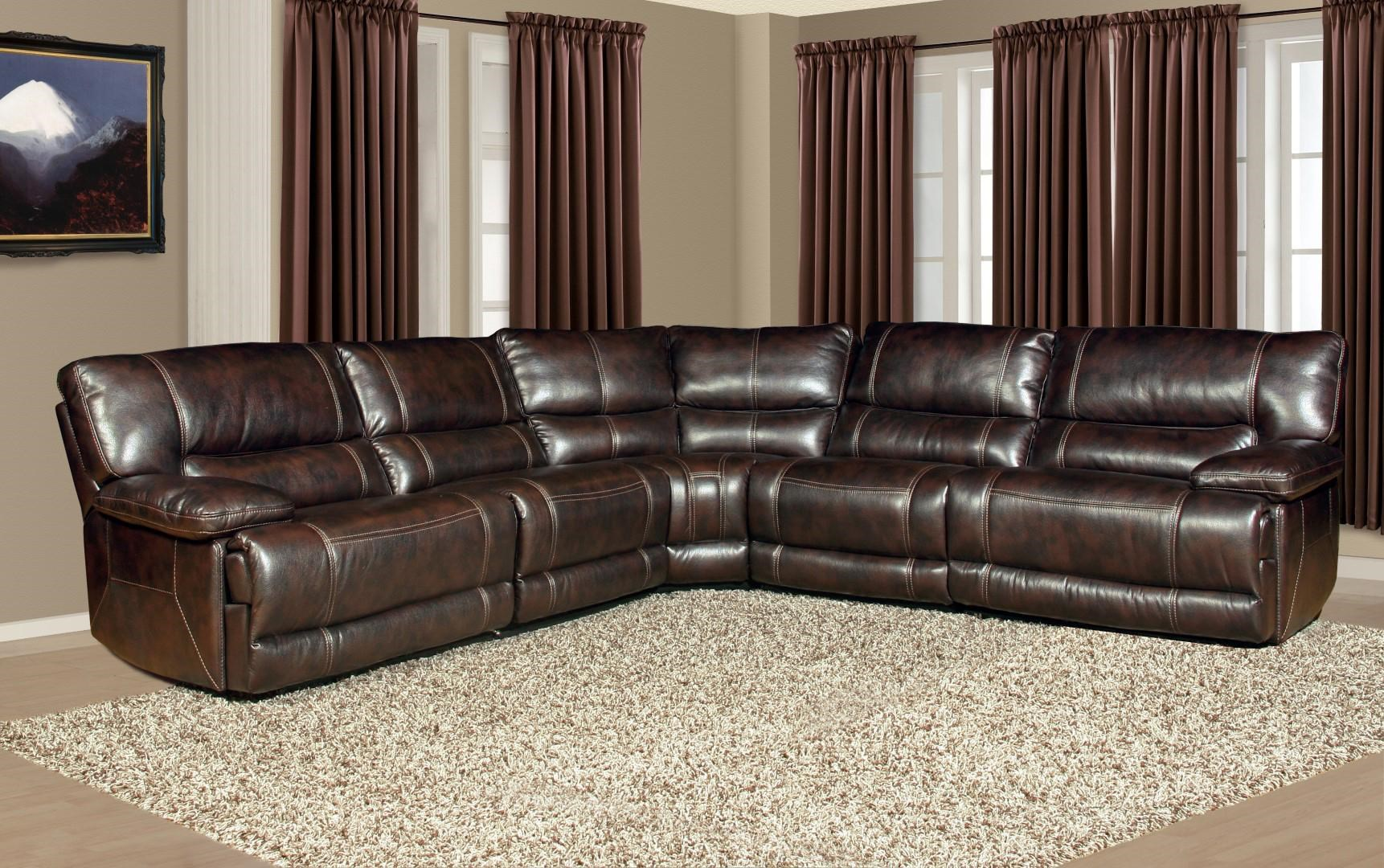 pegasus power reclining sectional sofa