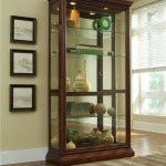 Pulaski Furniture Curios Eden House Two Way Sliding Door Curio Wayside Furniture Curio Cabinets