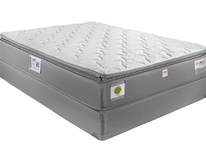 Restonic London King Hybrid Pillow Top Mattress Miskelly Furniture Mattresses