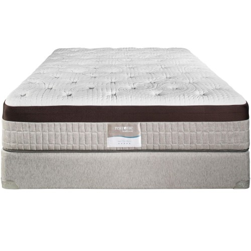 Restonic Vienna Queen Extra Firm Talalay Latex Mattress And Foundation