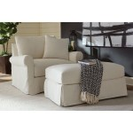 Rowe Aberdeen P603 Slip 068 Transitional Chair With Rolled Arms And Slipcover Thornton Furniture Upholstered Chairs
