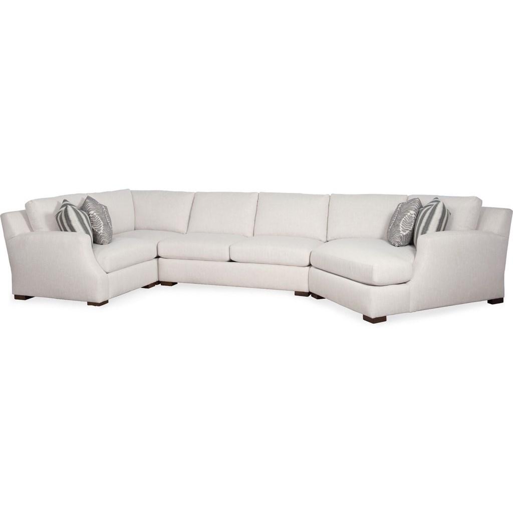 sariah transitional sectional sofa