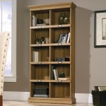 Sauder Barrister Lane 414725 Tall Bookcase With 10 Cubbyhole