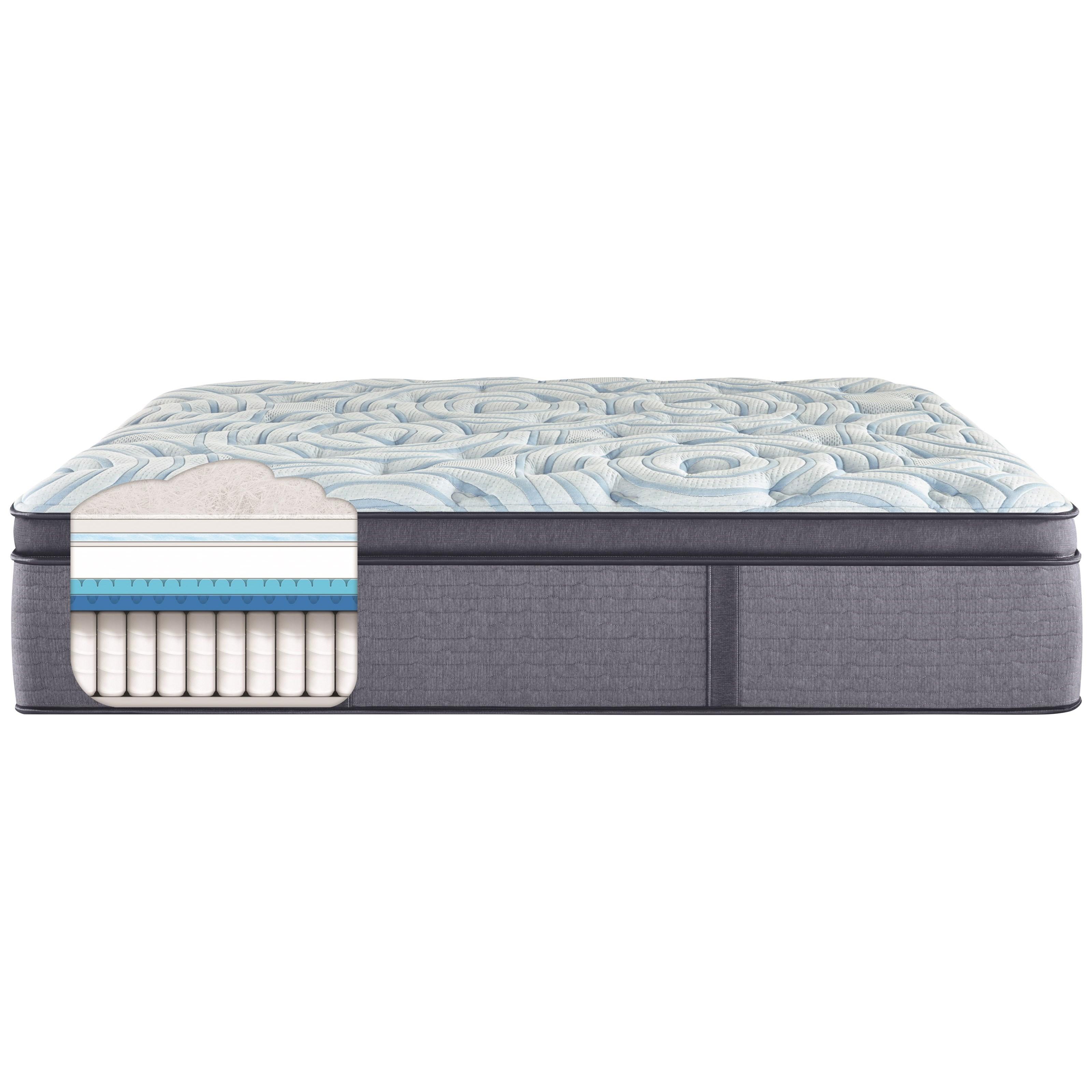 winnipeg plush pt queen 17 1 2 plush pillow top mattress