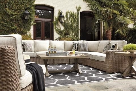 beachcroft 3 piece outdoor sectional