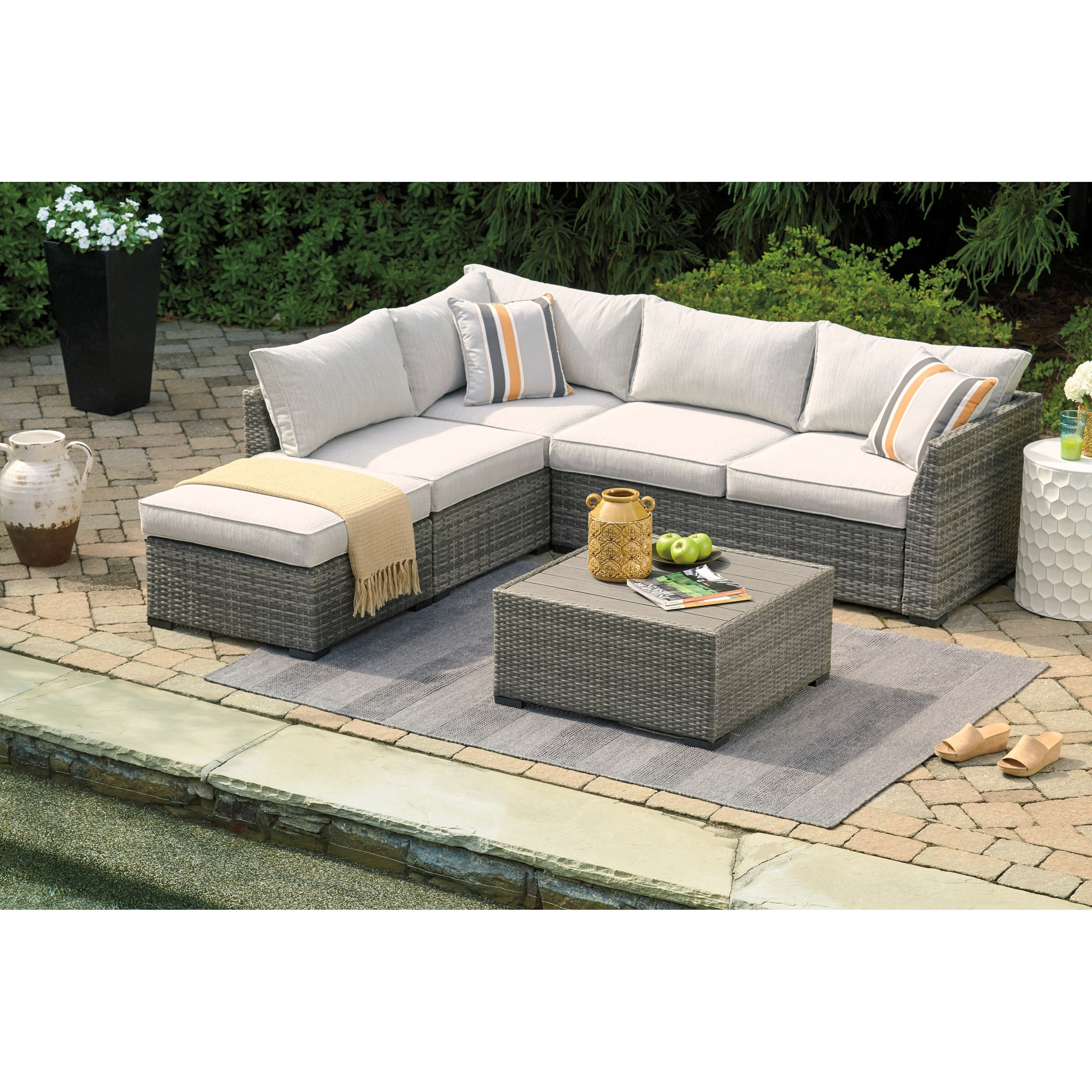 cherry point outdoor sectional set