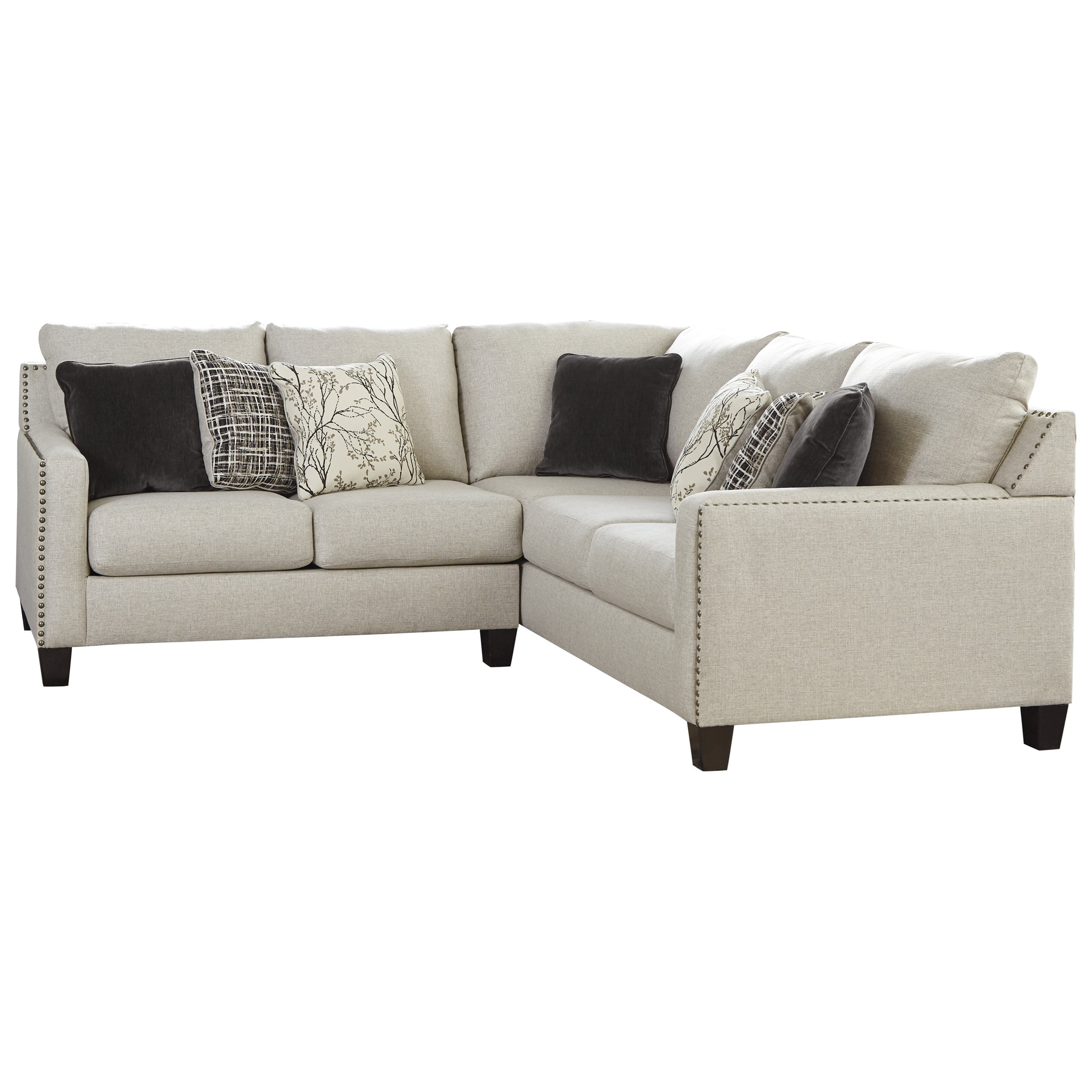 Signature Design By Ashley Hallenberg Two Piece Sectional