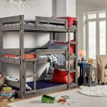 Simply Bunk Beds Dakota Triple Bunk Bed Royal Furniture Bunk Beds