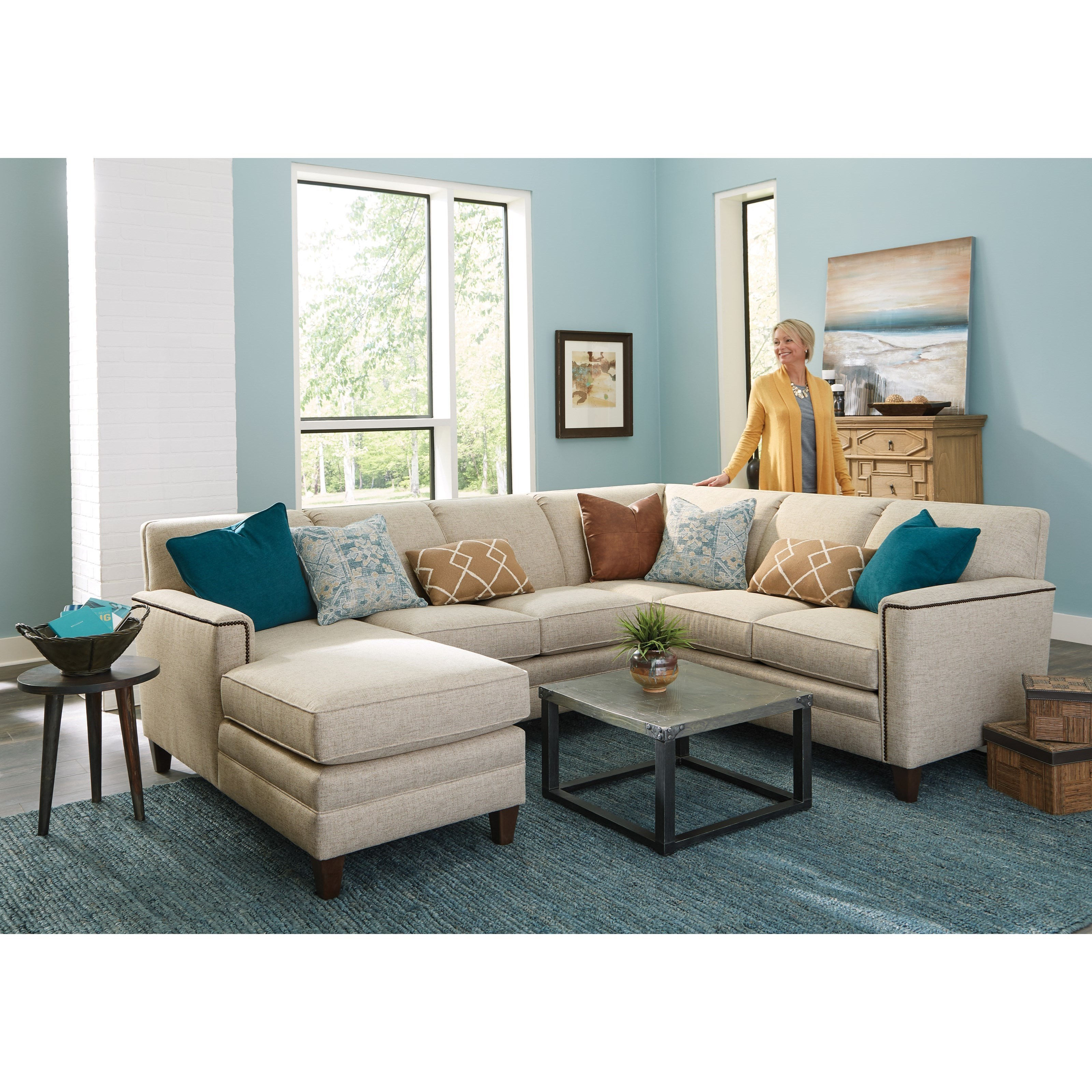 piece chaise sectional