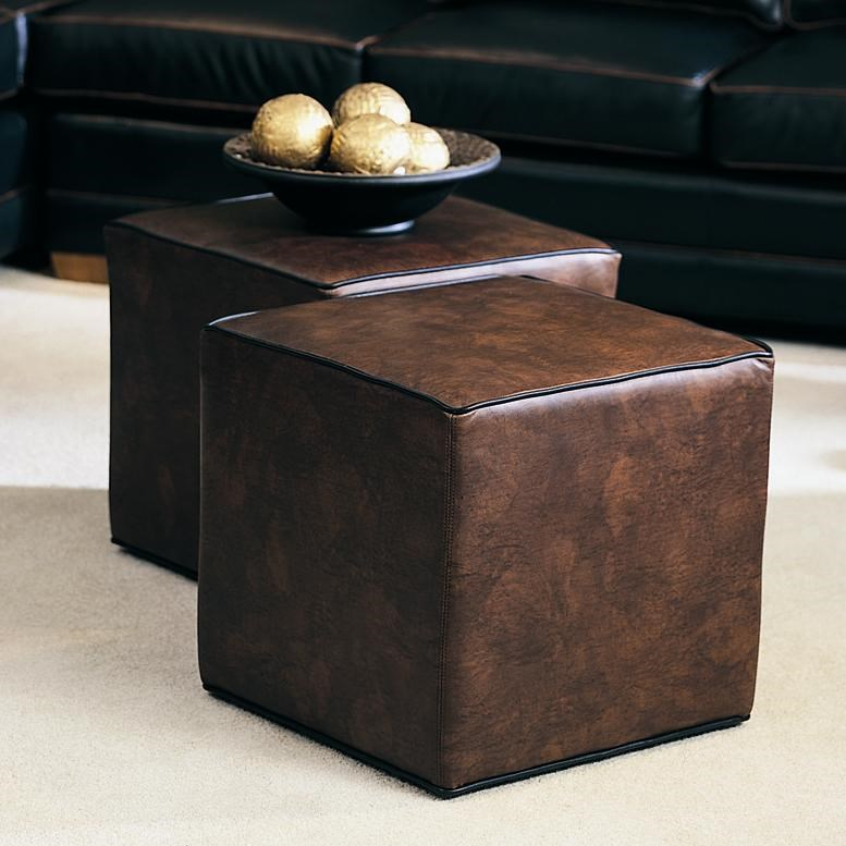 smith brothers cocktail ottomans