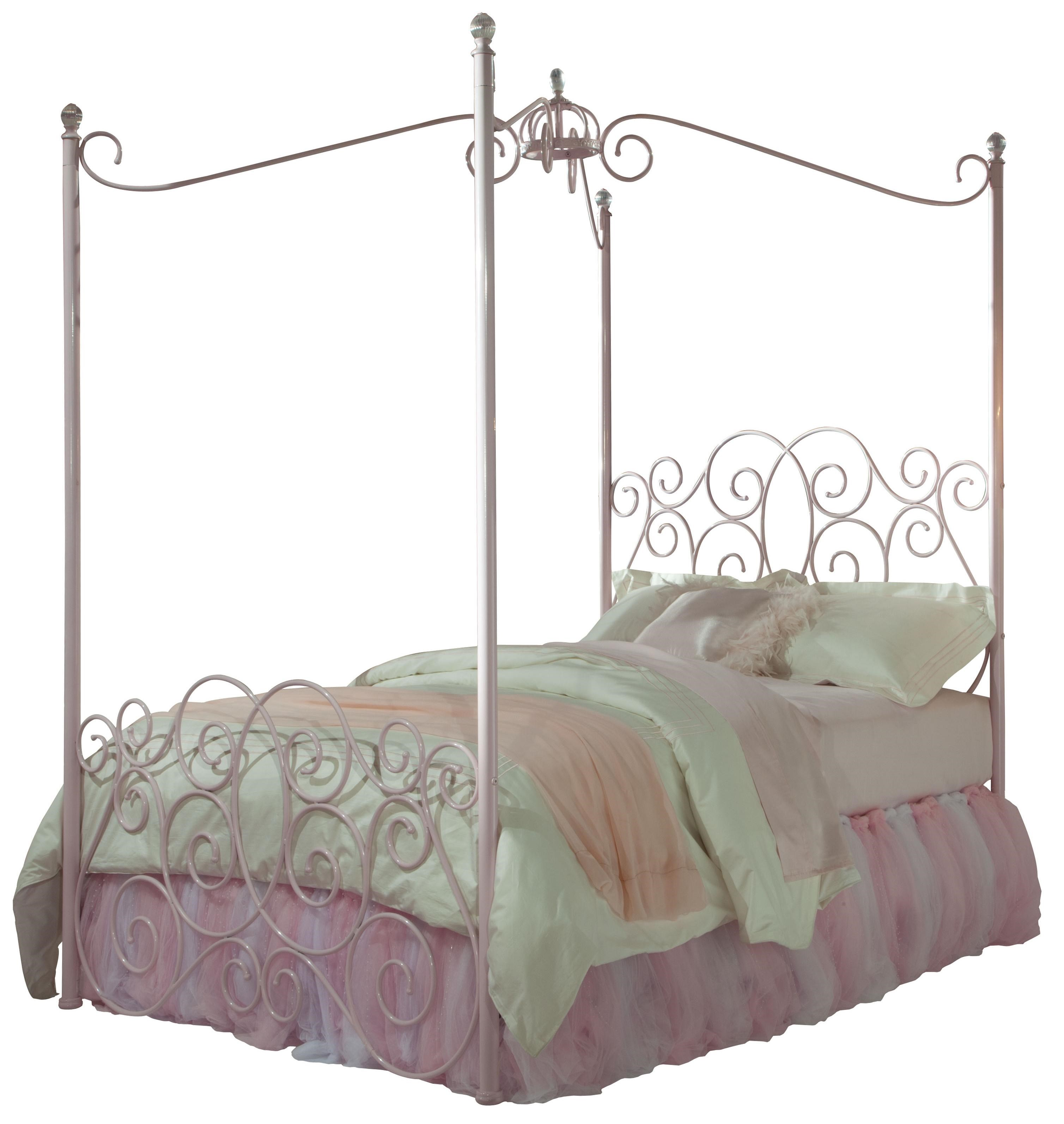 Standard Furniture Princess Canopy Beds Twin Metal Canopy