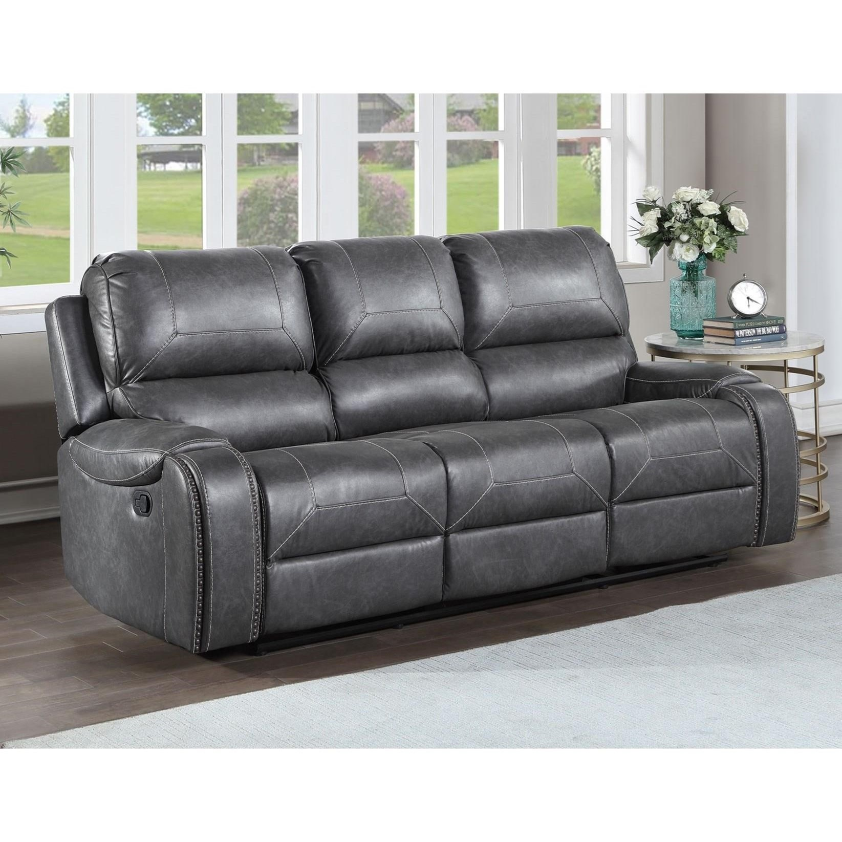 keily manual motion recliner sofa