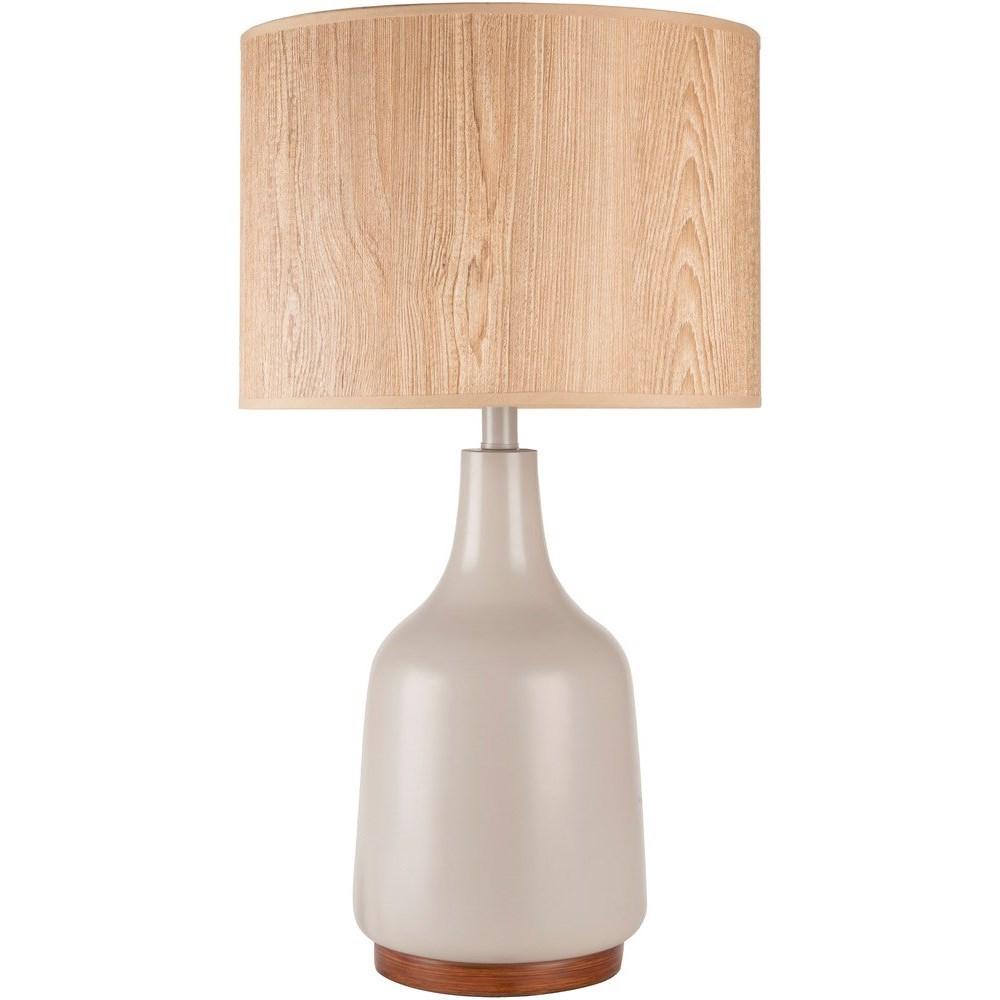 Surya Allen Allp 001 Gray Contemporary Table Lamp Hudson S