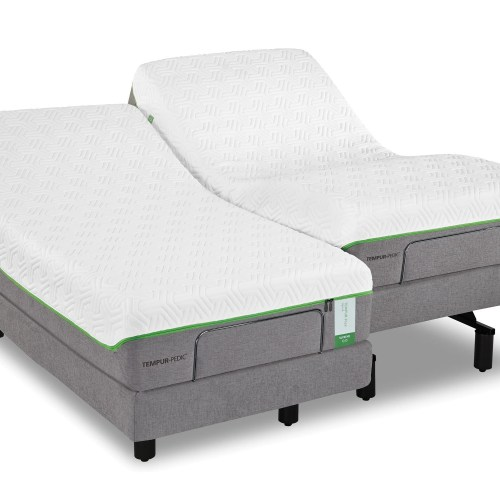 Tempur Pedic Flex Prima Queen Medium Firm Mattress And Ergo