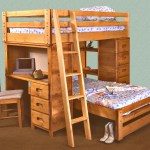 Trendwood Bunkhouse Twin Twin Bronco Loft Bed With Built In Desk Conlin S Furniture Loft Beds