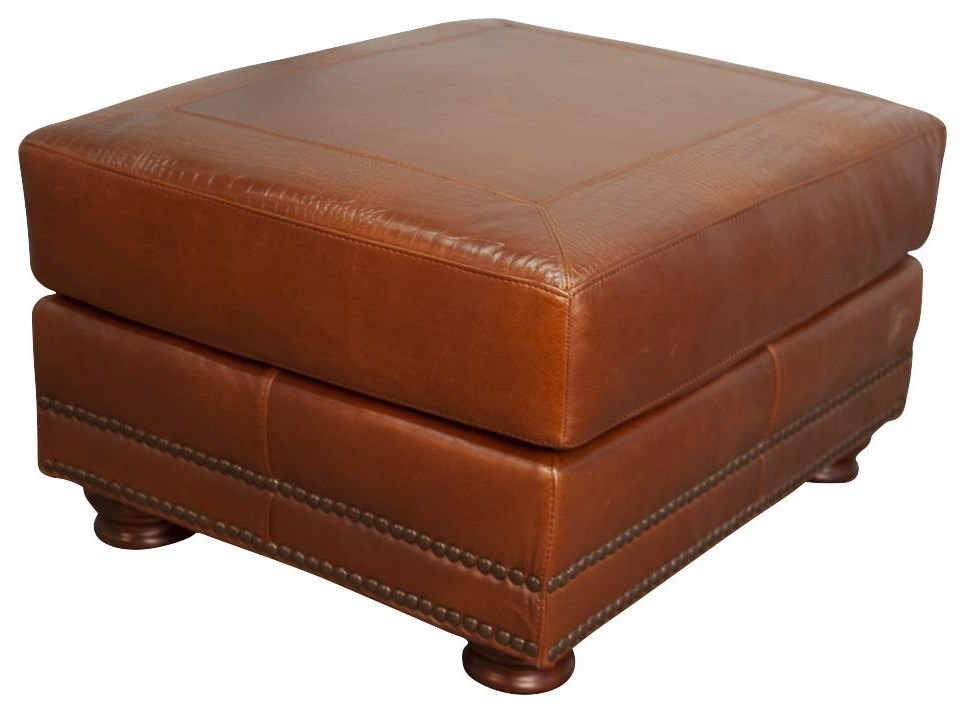 rhodas rhodas 100 top grain leather ottoman