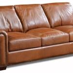 Usa Premium Leather Saddle Gator 4955 55 251 Saddle Queen Sleeper Leather Sofa Sam Levitz Furniture Sleeper Sofas