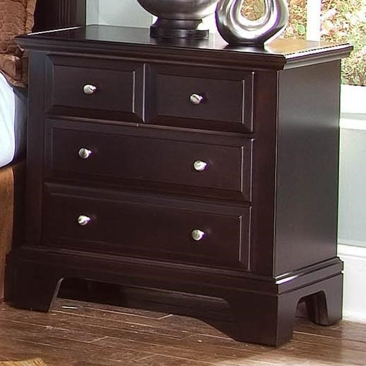 Vaughan Bassett HamiltonFranklin Night Stand With 2