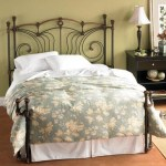 Wesley Allen Iron Beds King Chelsea Iron Headboard And Open Footboard Bed With Return Posts Wayside Furniture Headboards