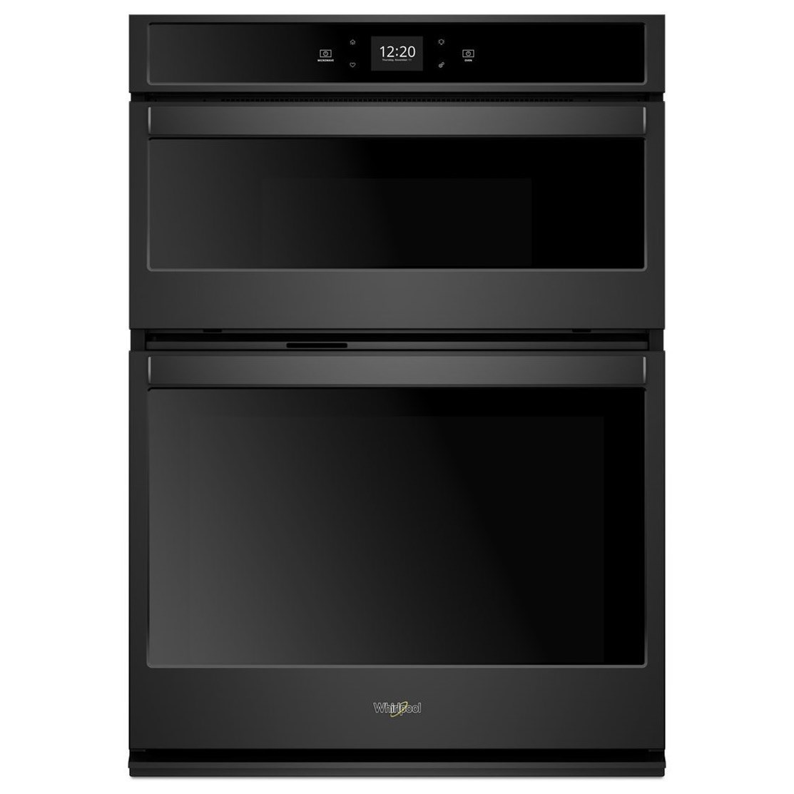 electric wall ovens whirlpool 5 7 cu ft smart combination wall oven