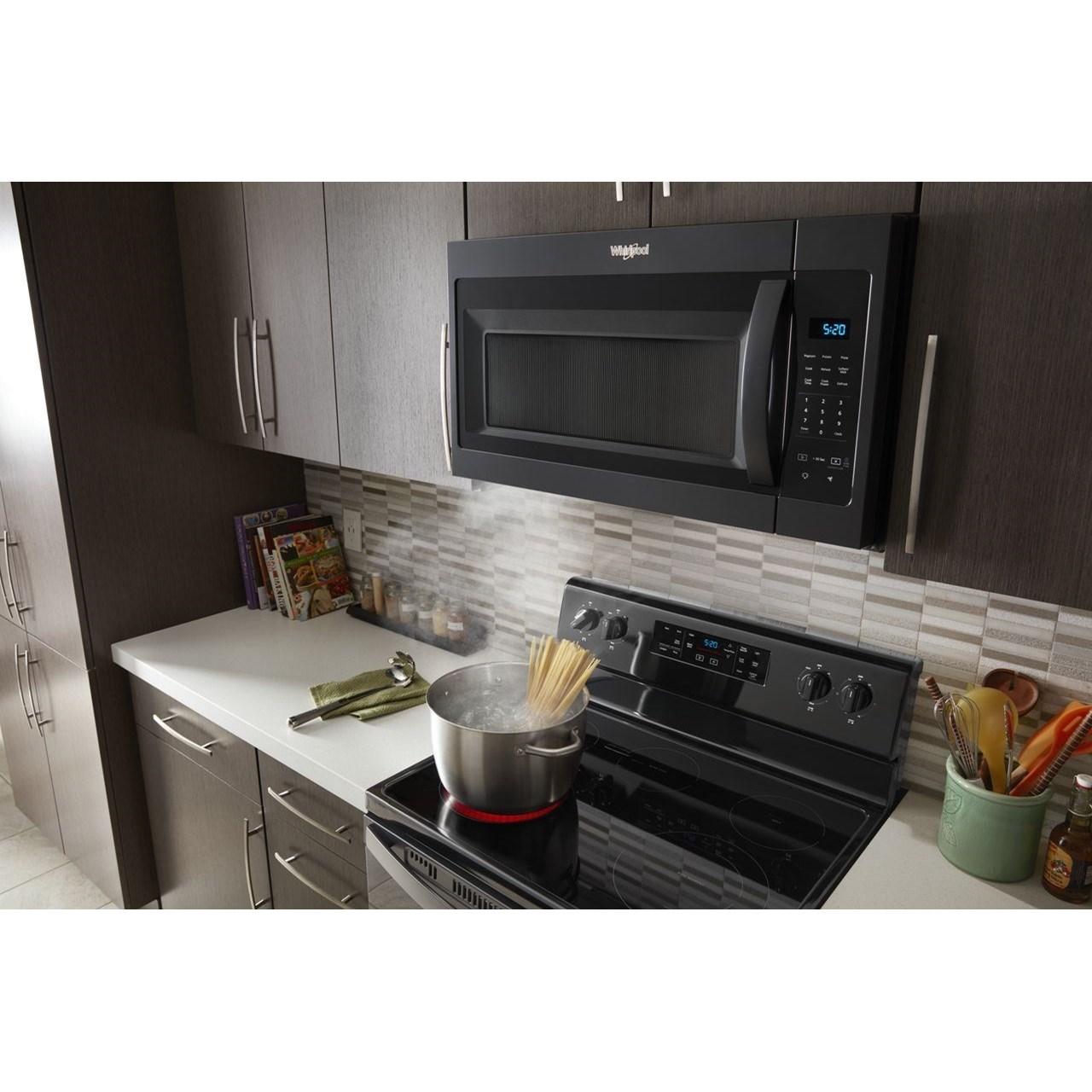 microwaves whirlpool 1 7 cu ft microwave hood combination