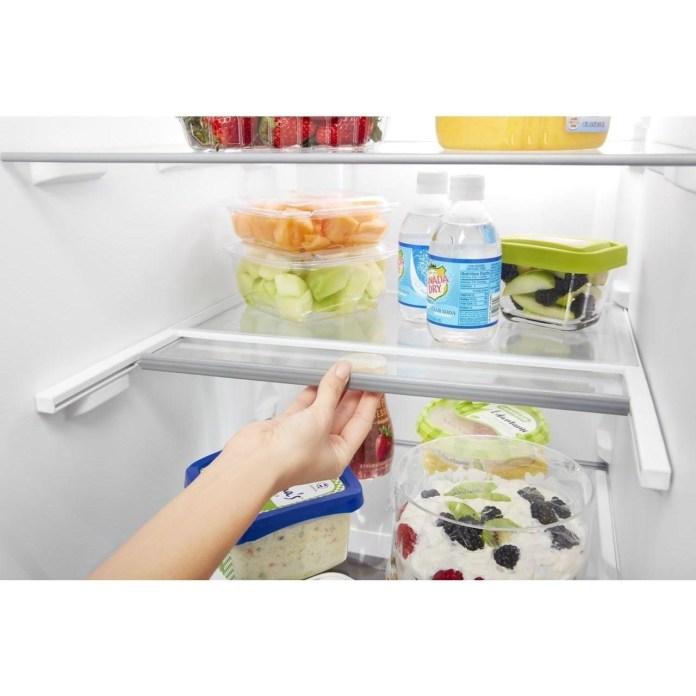 Whirlpool 36 Inch Wide Side By Side Refrigerator 25 Cu Ft Pedigo Furniture Refrigerator Side X Side With Dispenser