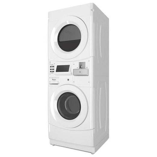 Whirlpool Cet9000gq Commercial Electric Stack Washer And Dryer With Coin Drop Furniture And Appliancemart Washer Dryer Combo
